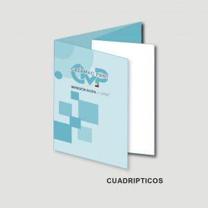 Cuadriptico ( 8 Caras)